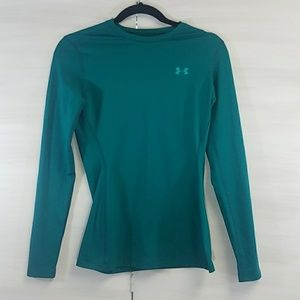 Under Armour teal cold gear top
